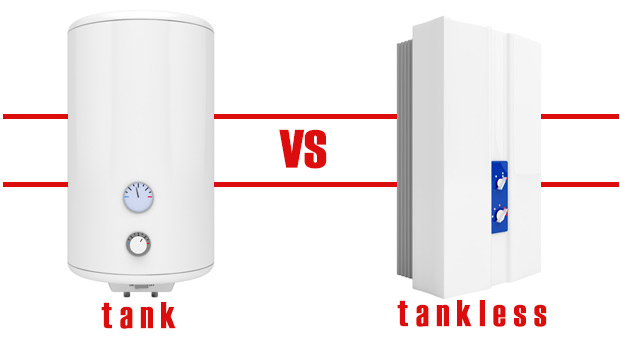 tankless water heaters vs. tank storage water heaters: which one is